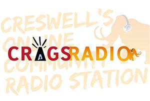 Crags Radio logo